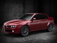 3d model alfa romeo 159