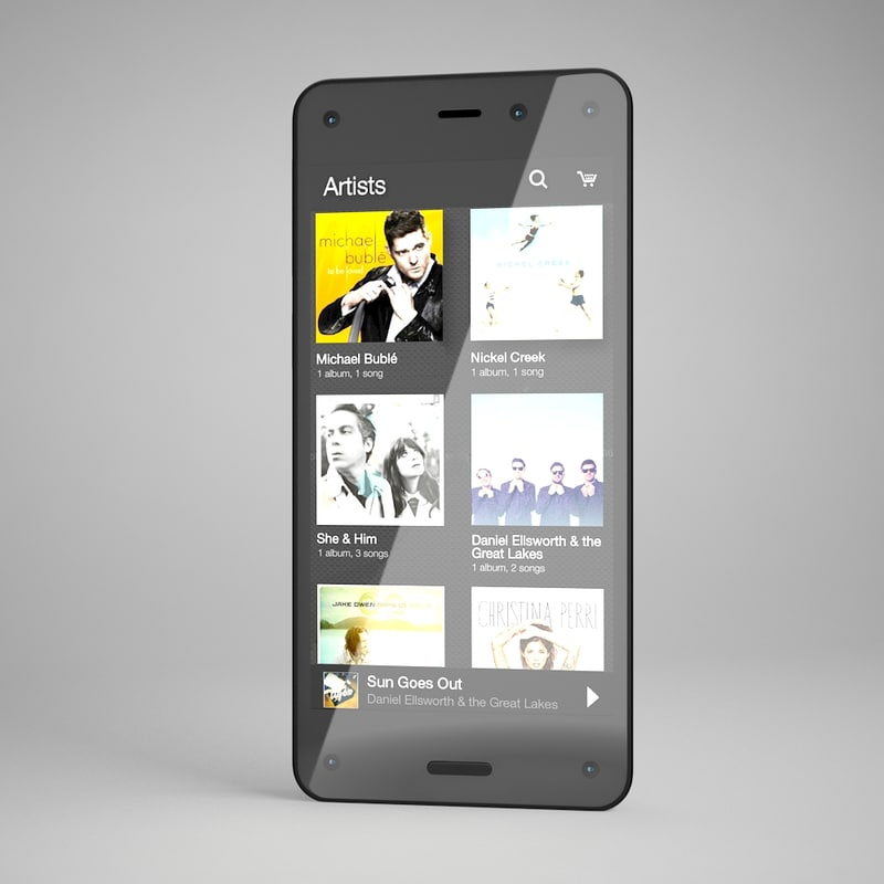 3d model amazon phone