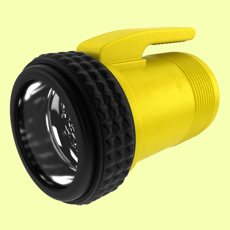 3d flashlight light