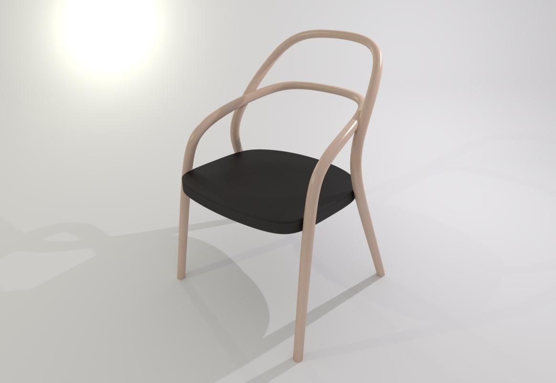 ton chair design fbx
