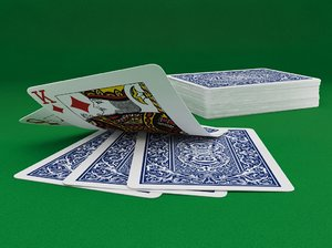 3d model cards deck
