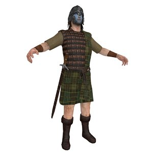 3d william wallace model