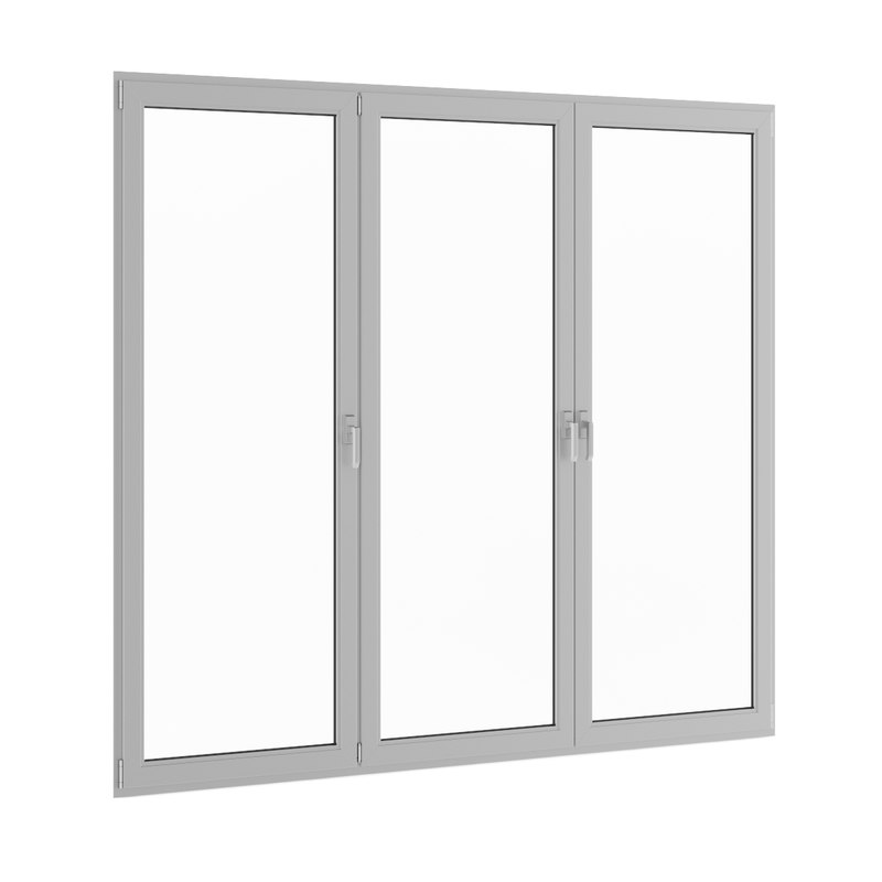 window metal c4d