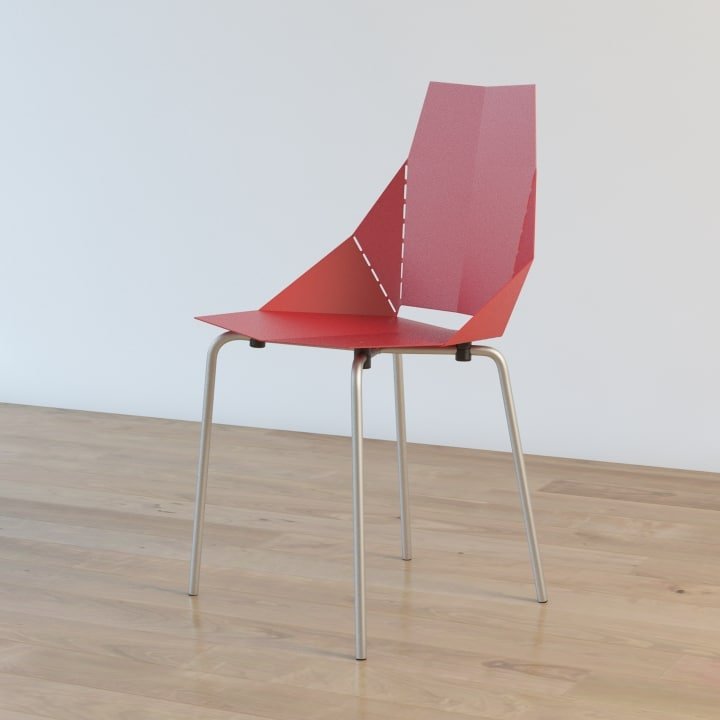 3d bludot chair