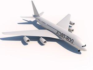 3d airbus a380