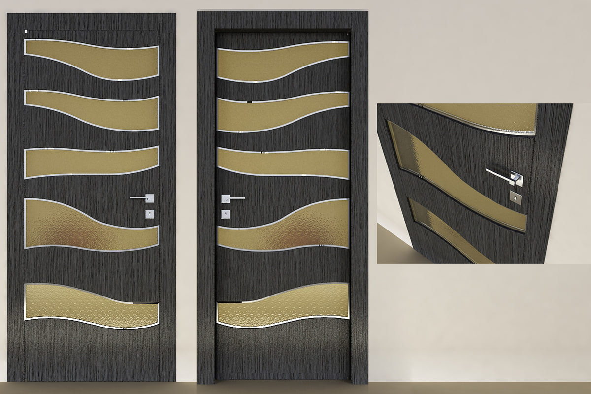 modern interior door max