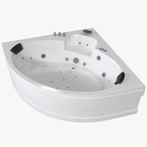 max corner jacuzzi bath