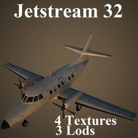 british aerospace 32 3d model
