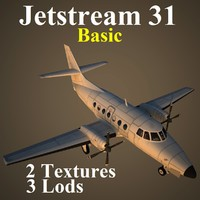 british aerospace 31 basic 3d model