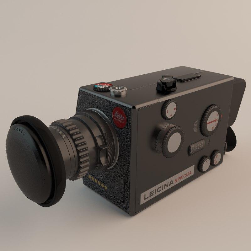 leitz leicina super-8 camera max