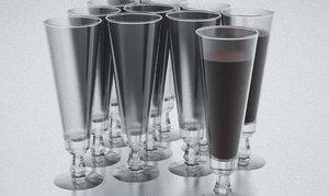 3ds max nordsk kravat champagne glass