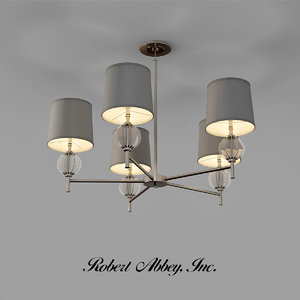 3d robert abbey latitude chandelier