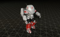 cinema4d powered armor suit