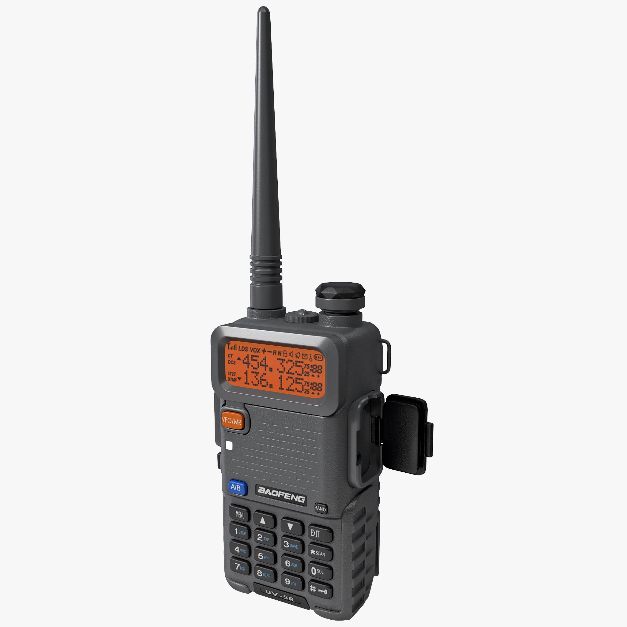 way radio baofeng uv-5r 3ds