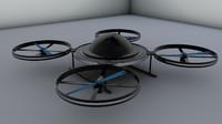 3d model drone machine