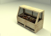 3ds max cake shop