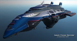3d obj spaceship space