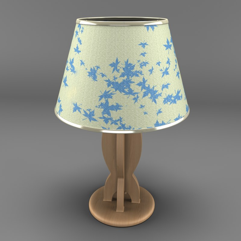 3ds lamp lampshade