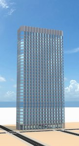3d model skyscraper nr 22