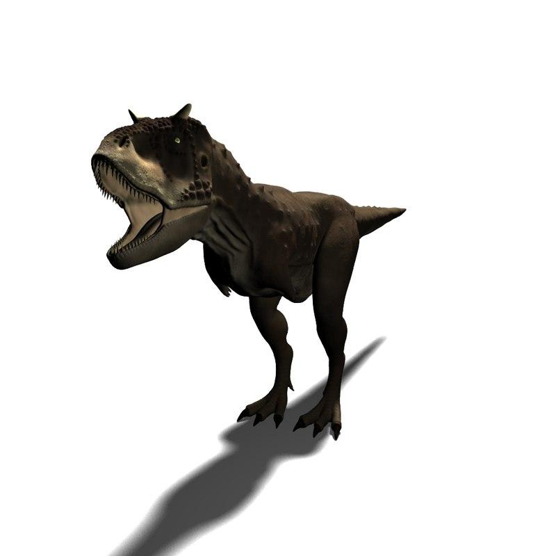 3d model carnotaurus carno