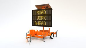 solar powered highway construction 3d ma