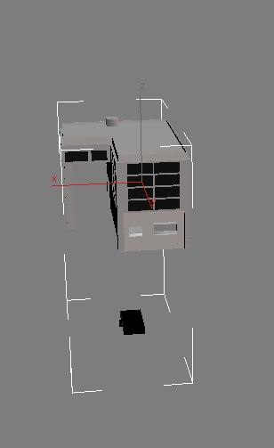3d model of office building