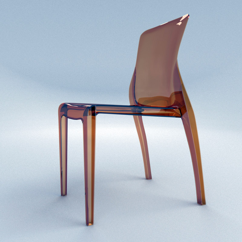 chair crystal domitalia 3d model