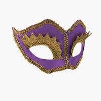 Mardi Gras Mask 3