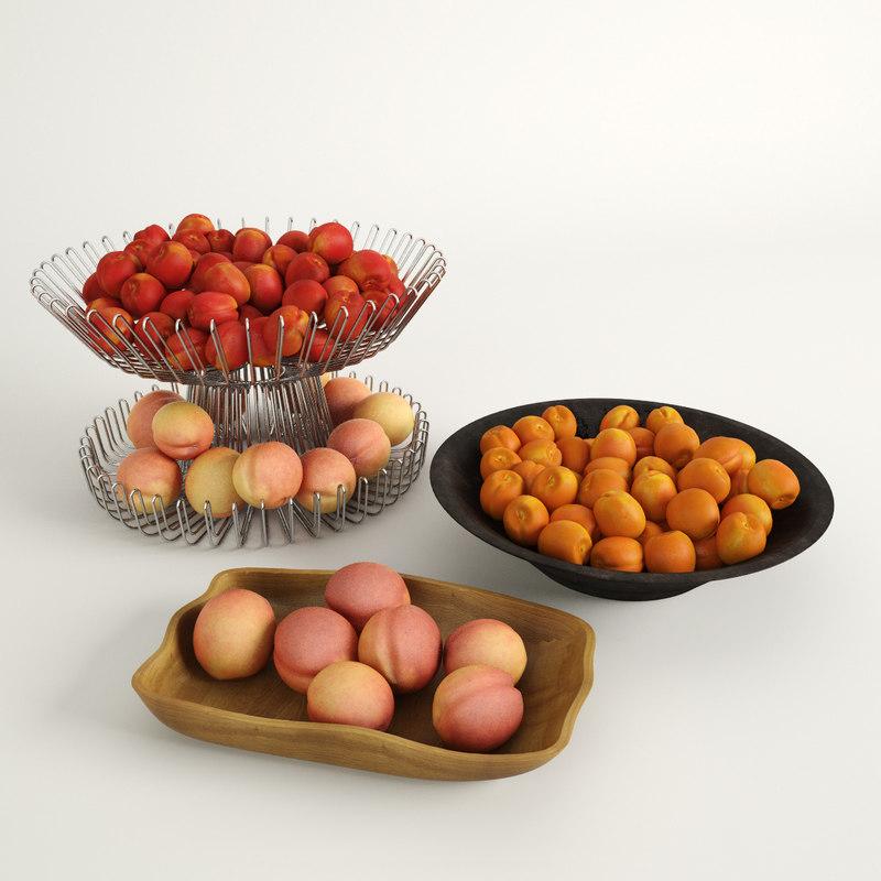 free max model nectarines peaches
