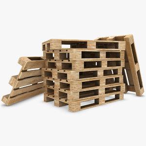 pallets subdivided obj