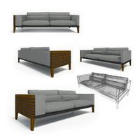 3d ritzwell lupin1632 sofa