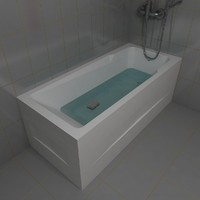 3d model tub kolpa armida 180x80