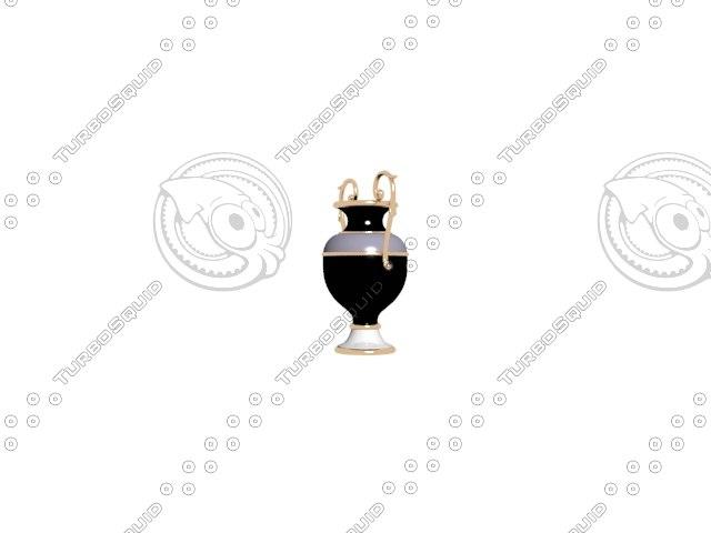 vase modeled 2014 3d model