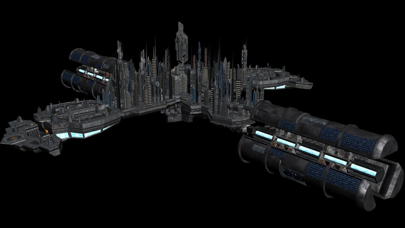 3d ship shipyard model