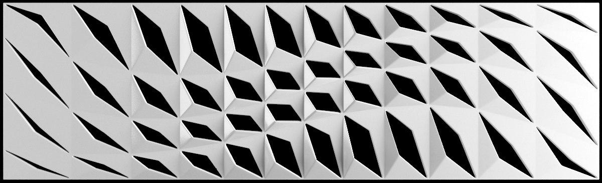 3d model dupont corian wall panel
