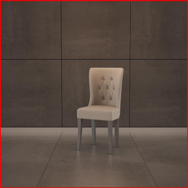 nice chair materials obj