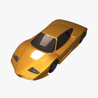 3dsmax sportive car