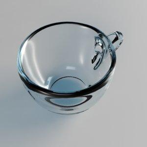3d model glass cup