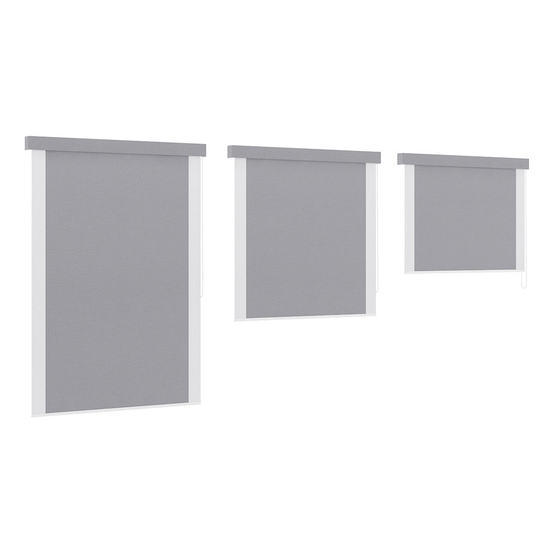 grey window blinds max