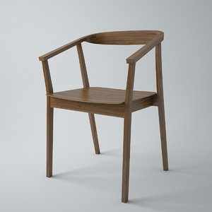 ikea stockholm dining chair 3d max