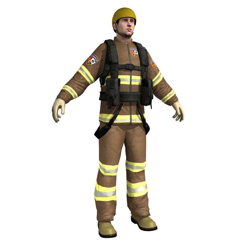 3d model rescue guard