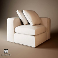 3ds max sofa montreal natural