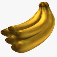 3d model cartoon banana