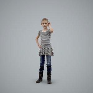 3d axyz normal human model