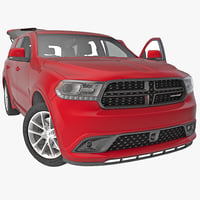 Dodge Durango 2014 Rigged