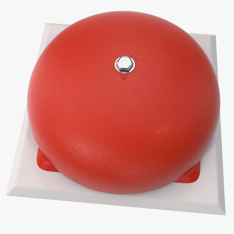 3ds max alarm bell