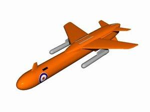 drone mirach 3d model