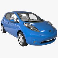 Nissan Leaf BEV 2014