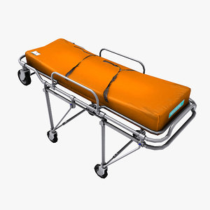 obj rolling medical stretcher