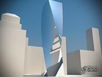 skyscraper modular mentalray max